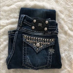 Very dark wash miss me jeans model #JE5168L